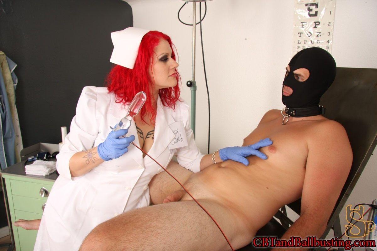 Doctor ballbusting My Boyfriend